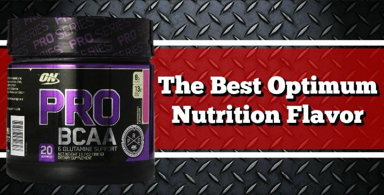 The Best Optimum Nutrition Flavor 2017